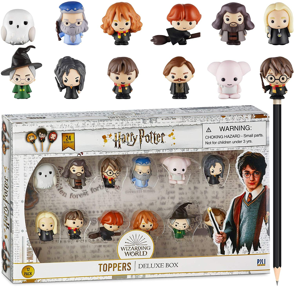 Harry Potter Hermione Granger Ron Weasley 6pcs//set Toy Gift PVC Figure