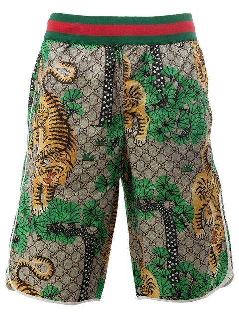 f905995fd GUCCI Bengal Print Swim Shorts. #gucci #cloth #shorts | shorts ...