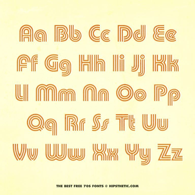 The 12 Best Free 70s Fonts Aesthetic Fonts Free 70s Fonts Lettering Fonts