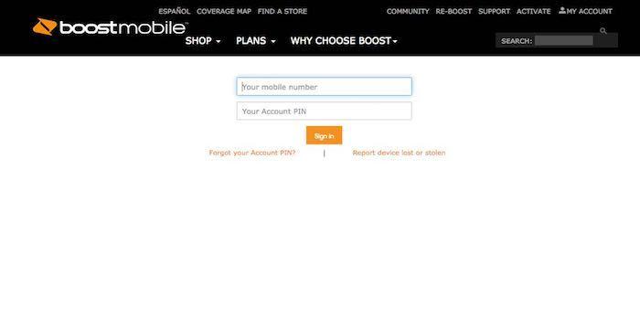 Boost Mobile Login Myaccount Boostmobile Com Account Boost
