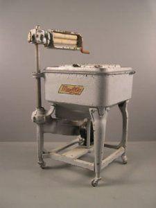 Washing machine, 1929.