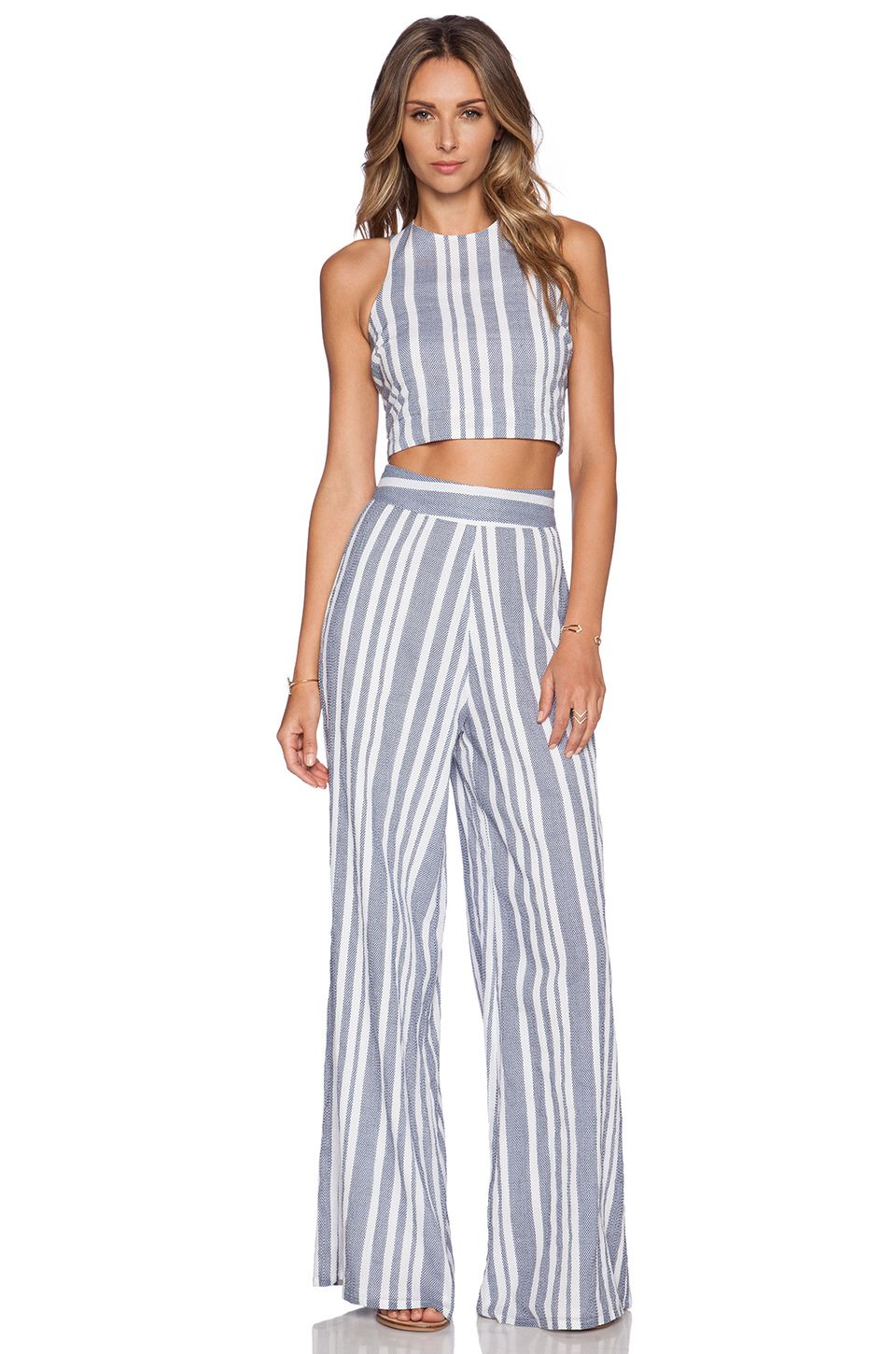 85848011a6e Nikki Reed for REVOLVE Marley Pant in Blue   White