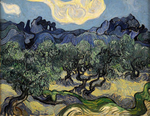Vincent van Gogh. The Olive Trees. Saint Rémy, June-July 1889. MoMA, NYC ♥♥♥