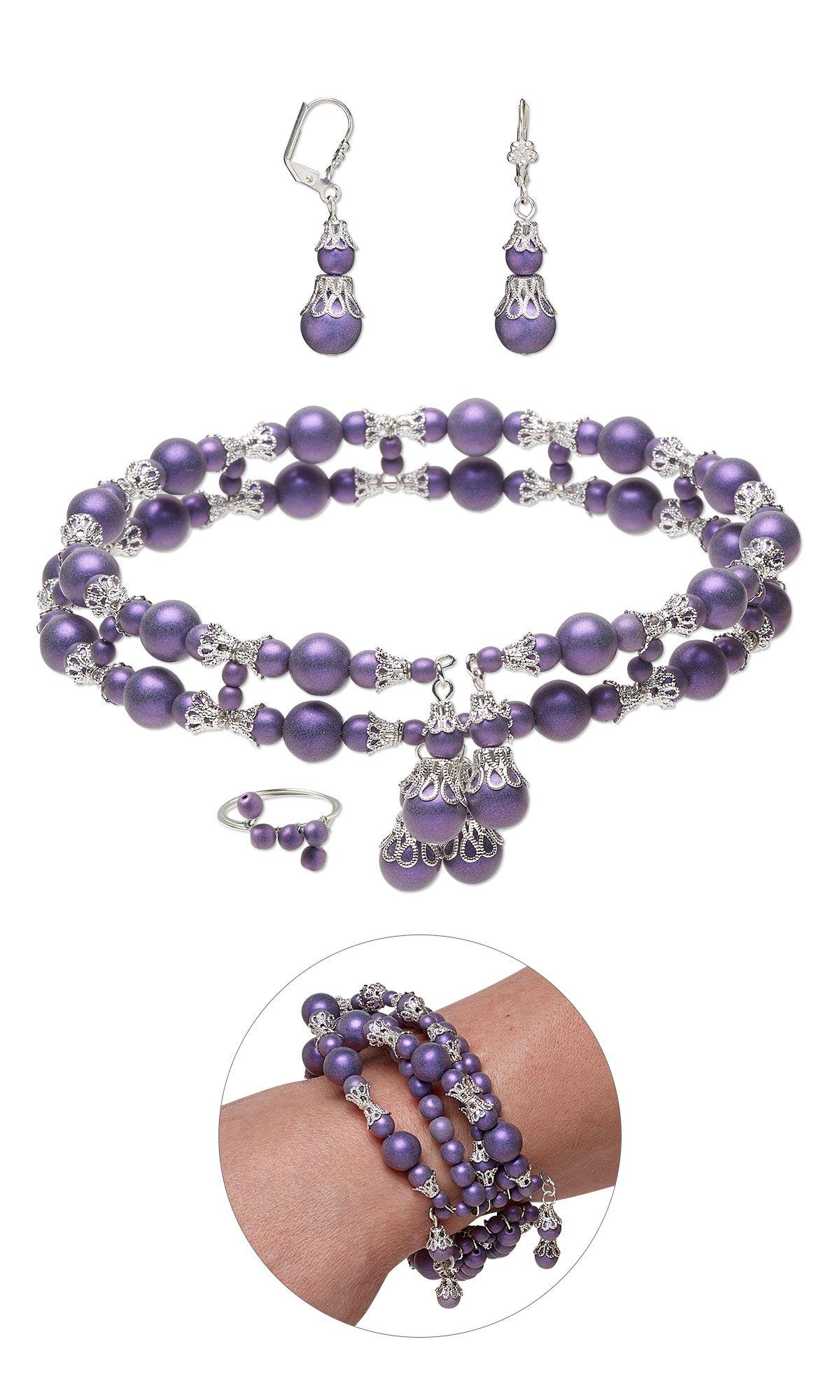 Jewelry Design - Memory Wire Choker-Style Necklace, Bracelet,Toe ...