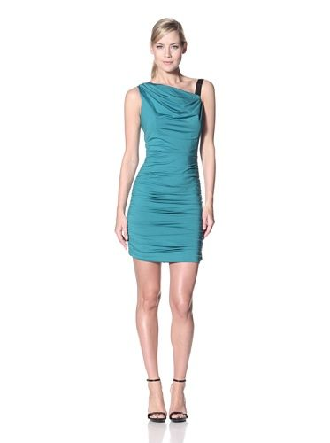 46% OFF Jessica Simpson Women\\\'s Draped Dress with Shoulder Tie ...