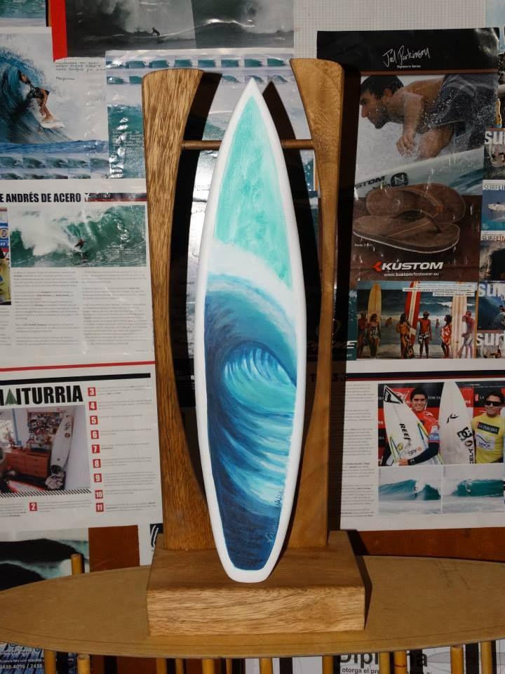 Gustavo Lumbreras' Surfing Surfer Sculpture Statue Facebook Page: https://www.facebook.com/gustavo.lumbreras.50?lst=1623222686%3A100002106448806%3A1421198664