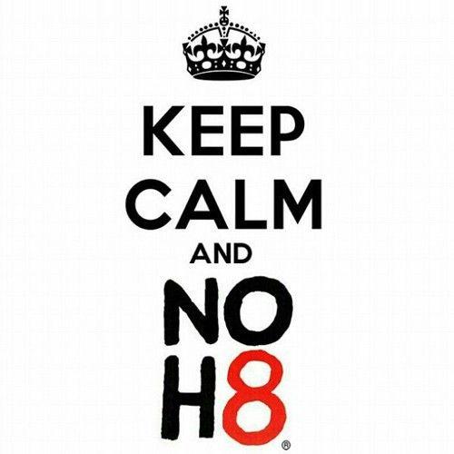 No H8 campaign - Everyone deserves love
