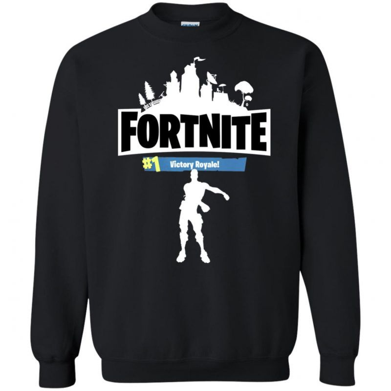 a444702b Fortnite Floss Dance Sweatshirt - Shop Freeship US Clothing, Accessories,  Gifts for Unicorn, Holidays, Birthday, Sport and Movies