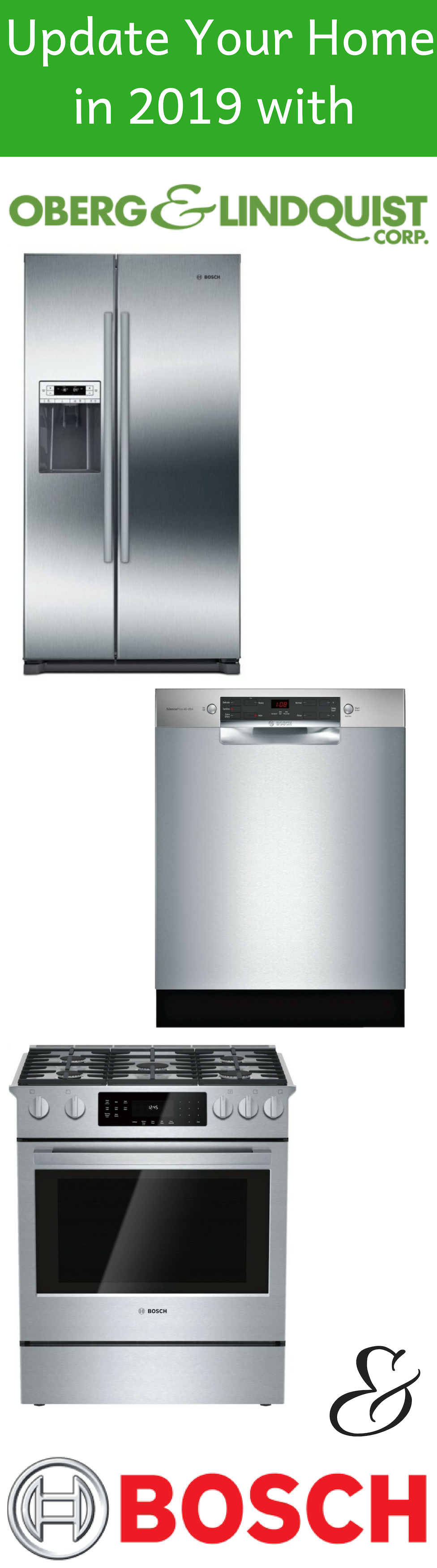 2019 Is The Year To Update Your Home Let The Remodeling Begin Bosch Appliances Are A Great W Kitchen Aid Appliances Vintage Appliances Appliances Storage