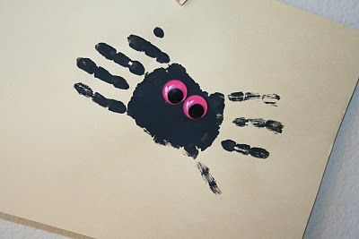need to do the handprint spiders again