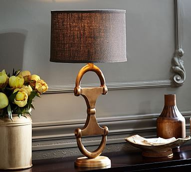 Equestrian Table Lamp Equestrian Chic Decor Lamps Living Room