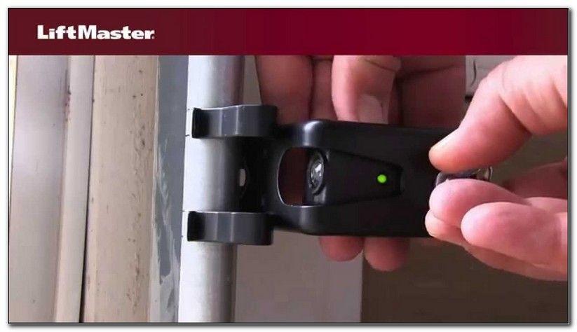 Liftmaster Garage Door Sensors Not Working Garage Door Sensor Garage Door Safety Garage Doors