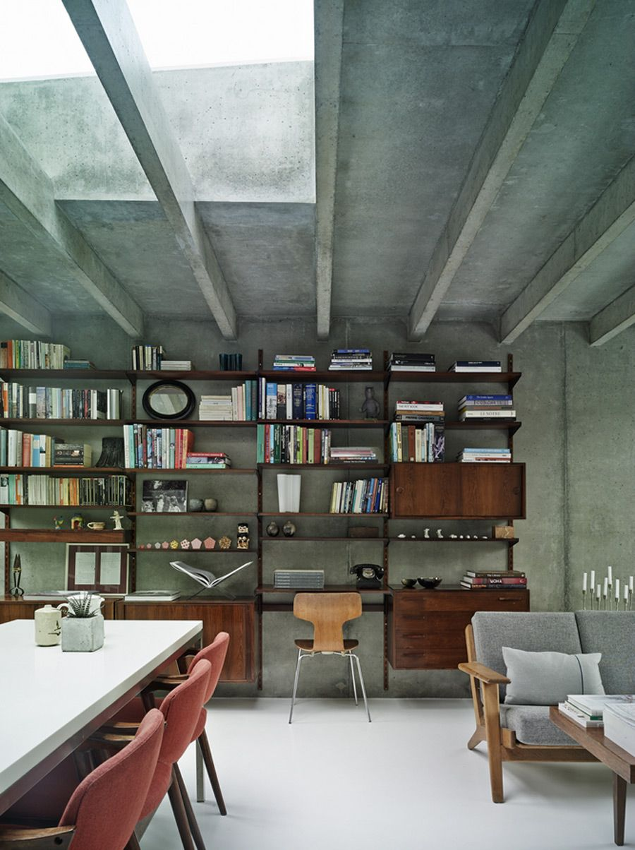 Danish And Concrete Covert House By Dsdha House House Design Home