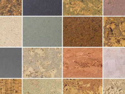 Cork Flooring Comes In A Wide Range Of Colors