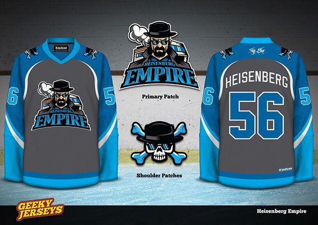 53a9a1bd982d Geeky Hockey Jerseys Based on Films