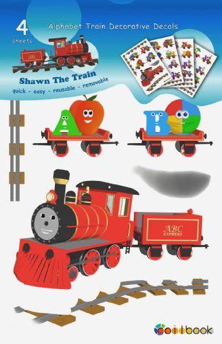 Amazon com: Alphabet Train Decorative Decals: Toys & Games