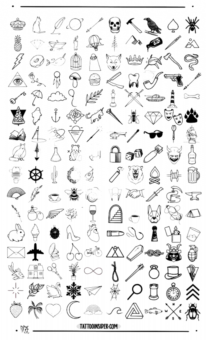 160 Original Small Tattoo Designs And Small Tattoo Ideas With 80 New Designs Including 40 For M Cool Small Tattoos Small Tattoo Designs Small Tattoos For Guys