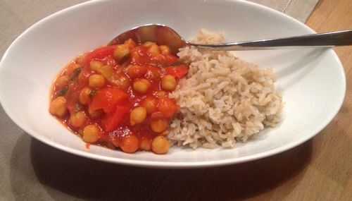 Rezept Kichererbsen Curry mit Pak Choi