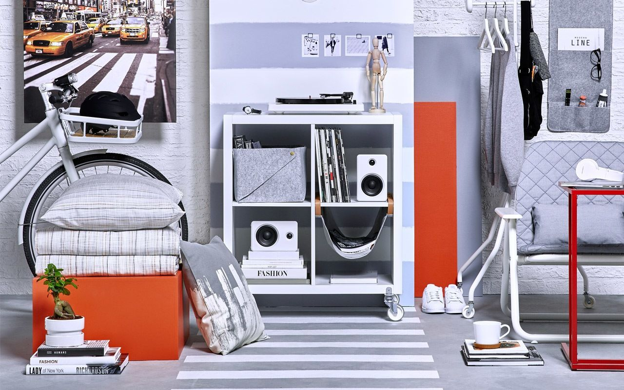 Ikea Back To College 2018 Shop Your Style Minimalist Dorm
