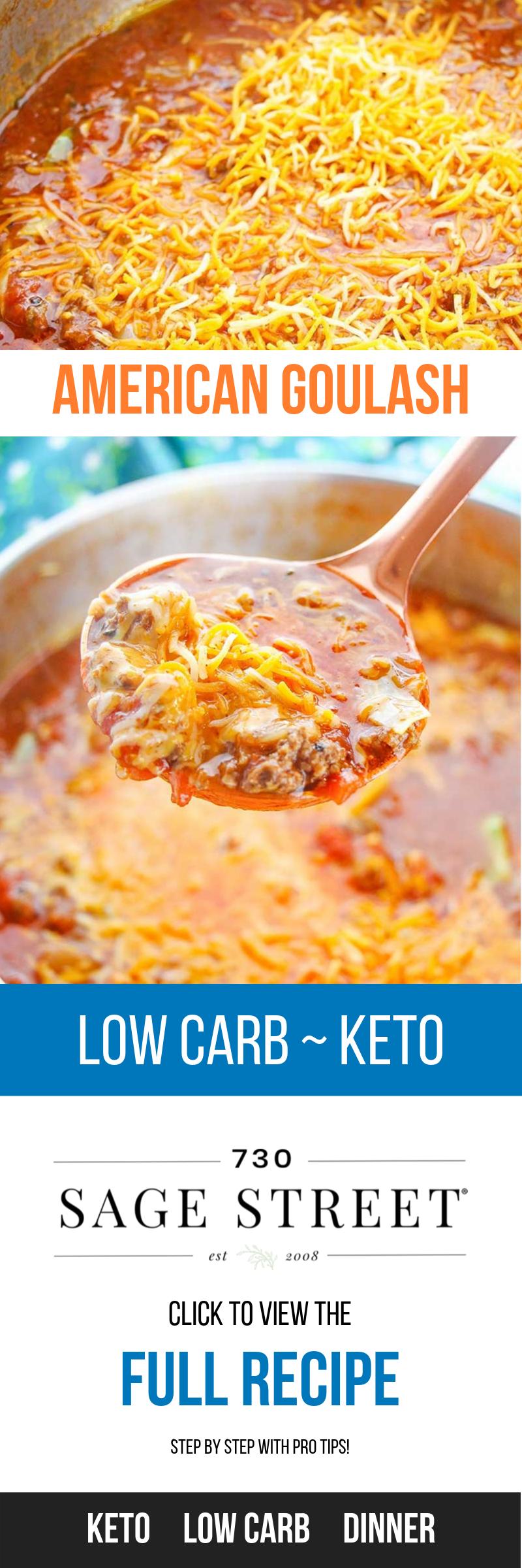 Photo of (Low Carb) Goulash Recipe