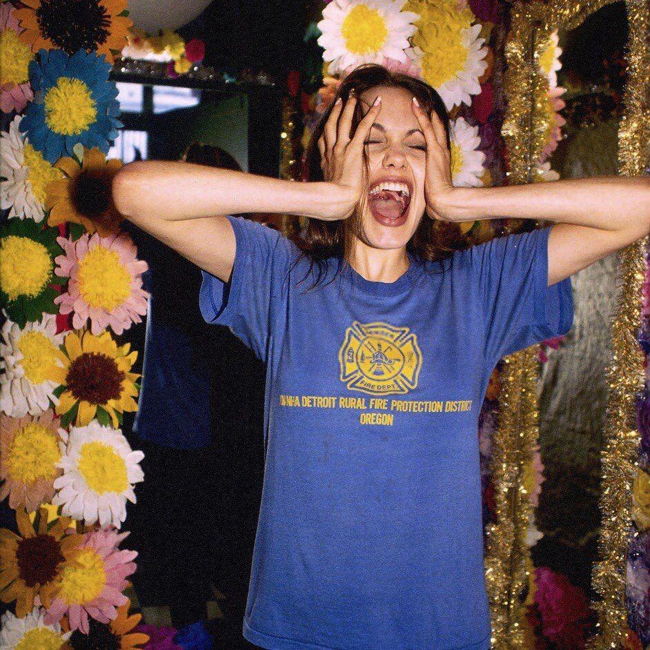 90s Jolie Glamour de hollywood, Fotografía contemporánea