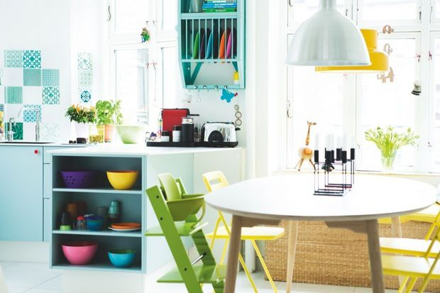 Colourful home | little birdie: Lovely Spaces