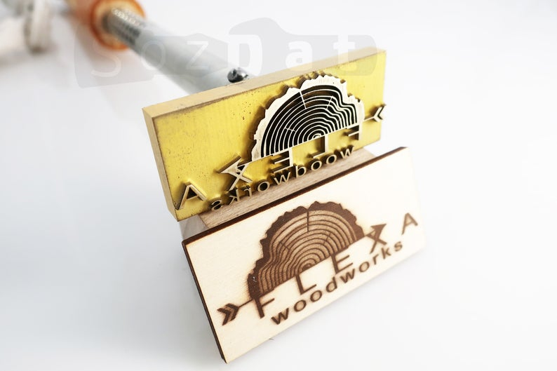 220 Volt Custom Branding Iron For Wood Branding Custom Leather Stamp Branding Iron With Electric Heater Wood Burning Stamp Hot Stamping Eu Custom Branding Iron Wood Branding Custom Branding