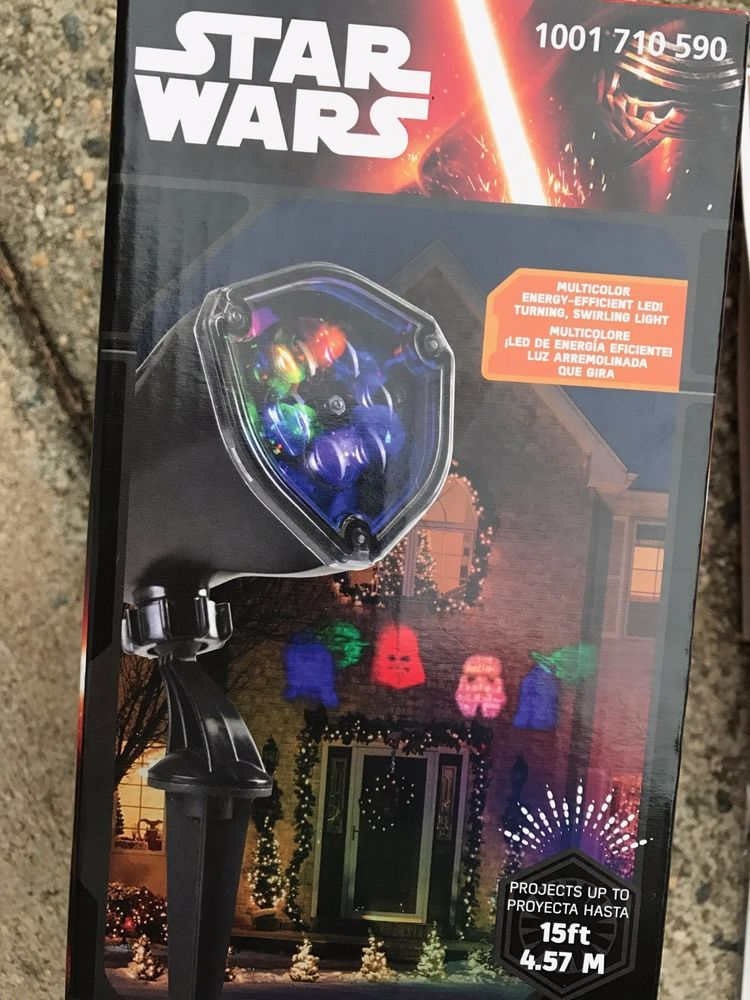 Star Wars LED Lightshow Outdoor Projection Christmas Lights Whirl a