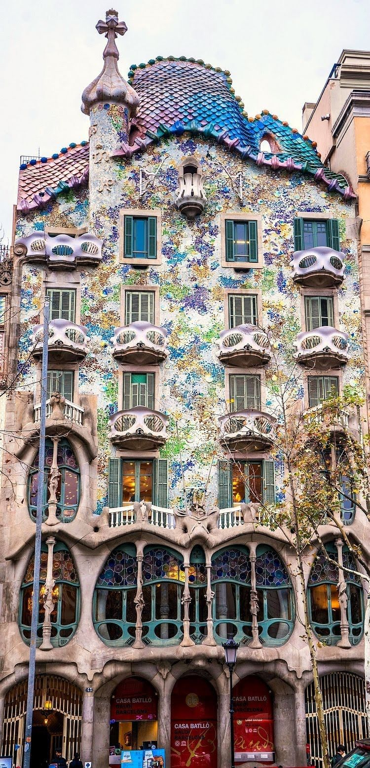 Tumblr  luxuryon Casa Batllo by Gaudi  Mystical