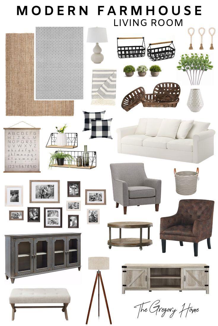 Photo of Modern Farmhouse Living Room