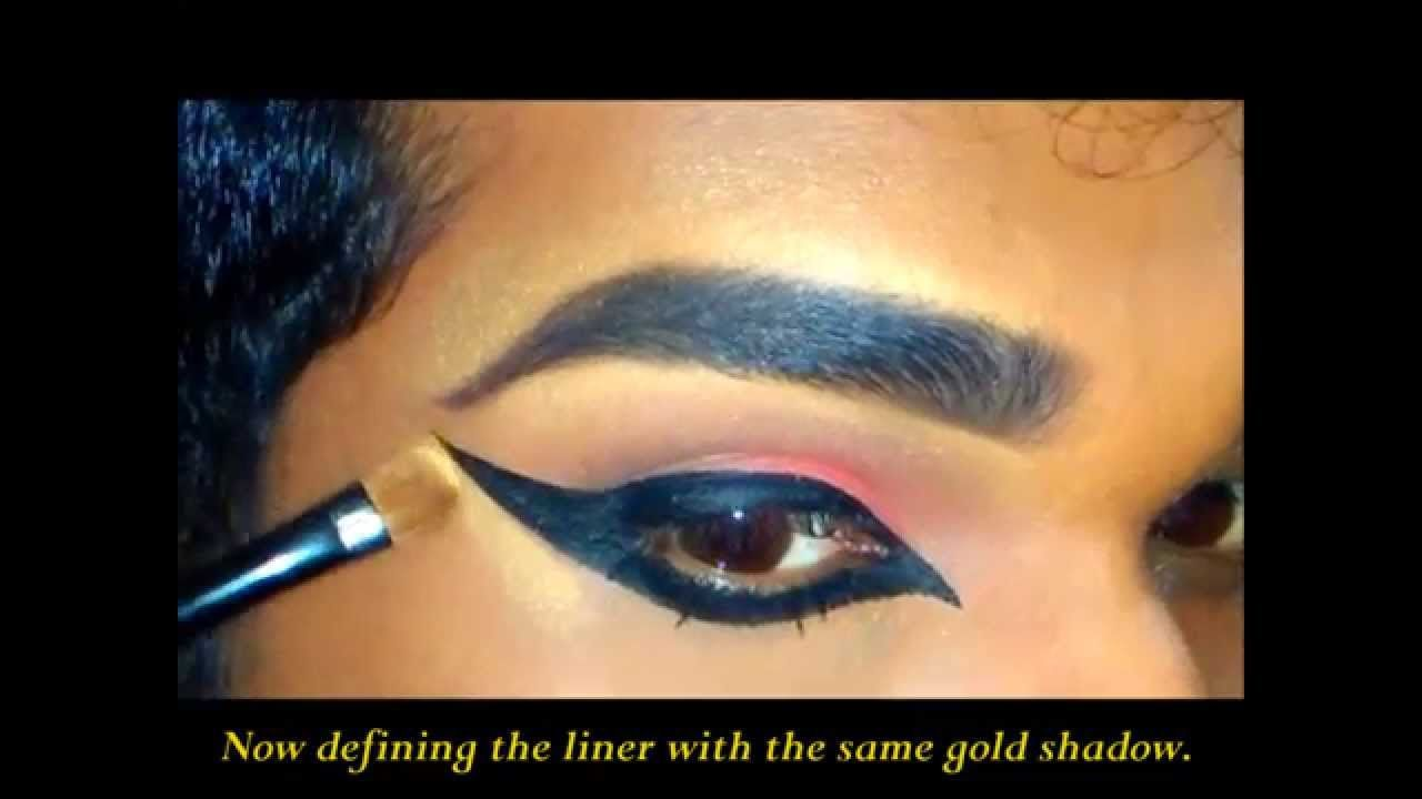 Indian Dance Makeup; Eye #dancemakeup Indian Dance Makeup; Eye #dancemakeup