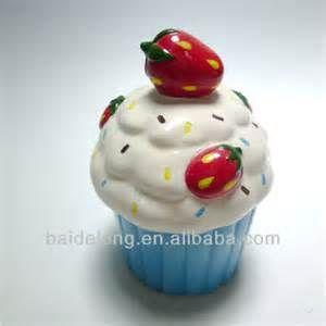 cupcake cookie jar -