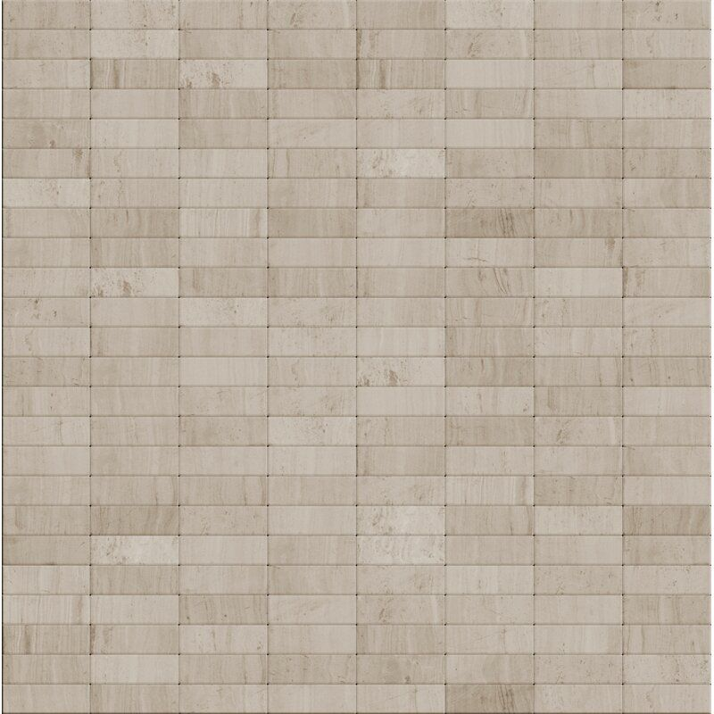 Urbain 11 X 12 Natural Stone Peel Stick Mosaic Tile Mosaic Tiles Stone Mosaic