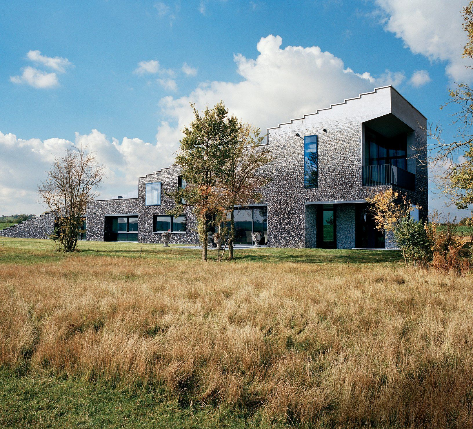 Inside Flint House, a Uniquely Modern English Country Estate