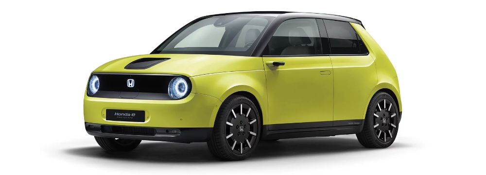 The Honda E Electric Car Debuts With Official Pricing Before Summer Launch Electric Cars Small Electric Cars City Car
