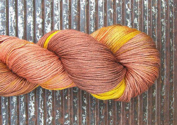 Baby Camel / Silk fingering yarn WESTMINSTER... by KettleYarnCo