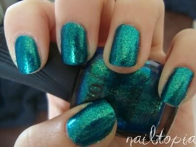 Turquoise Moonlight Quo By Orly Nail Polish Gtbluegreen