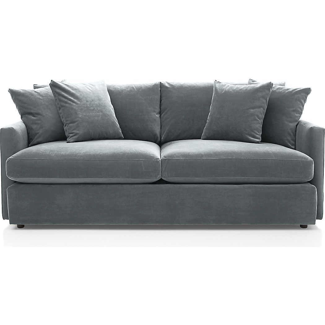 Lounge II Deep Couch + Reviews | Crate and Barrel | Sofa ...