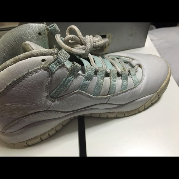 best loved 9882e 4347a Air Jordan 12 Mint green used Air Jordan Shoes Sneakers