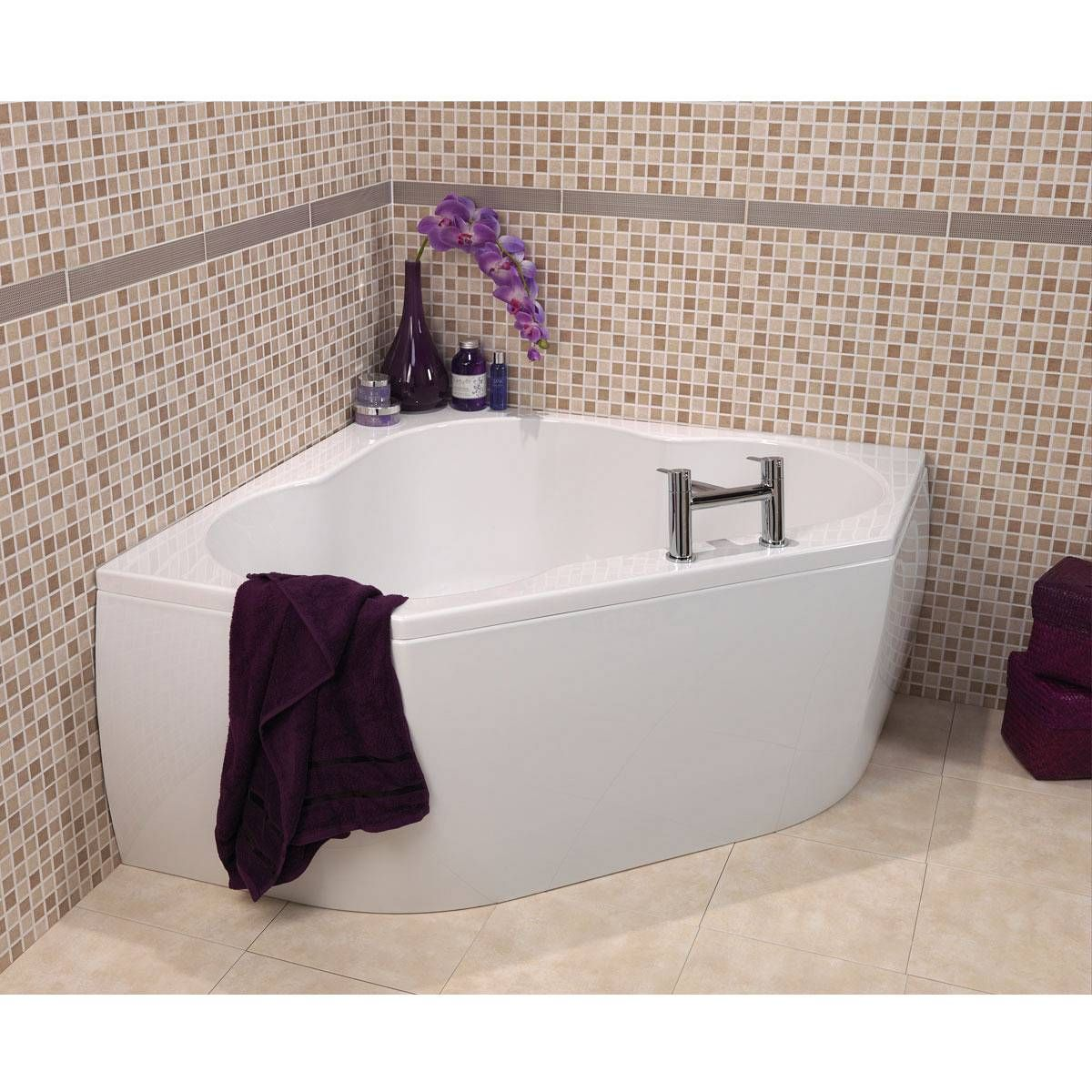 Realm Corner Bath Now Only 239 99 From Victoria Plumb Corner Bath Bathroom Inspiration Bathroom Design Small