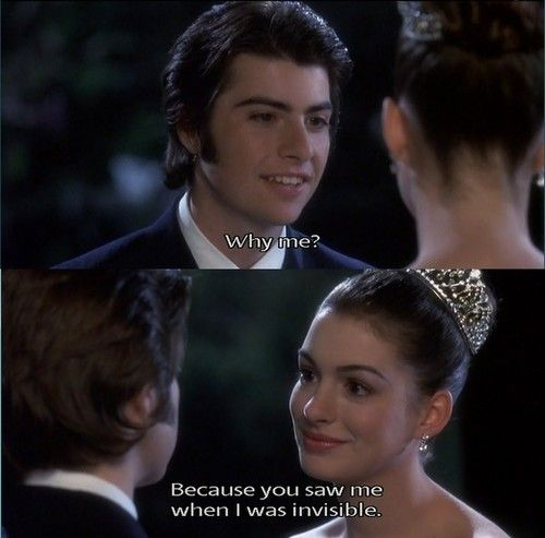The Princess Diaries....love this movie & this is one of the best parts