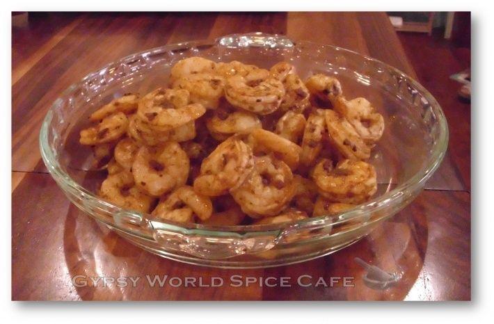Grilled Jamaican Jerk Shrimp (with Annatto Oil) #jerkshrimp