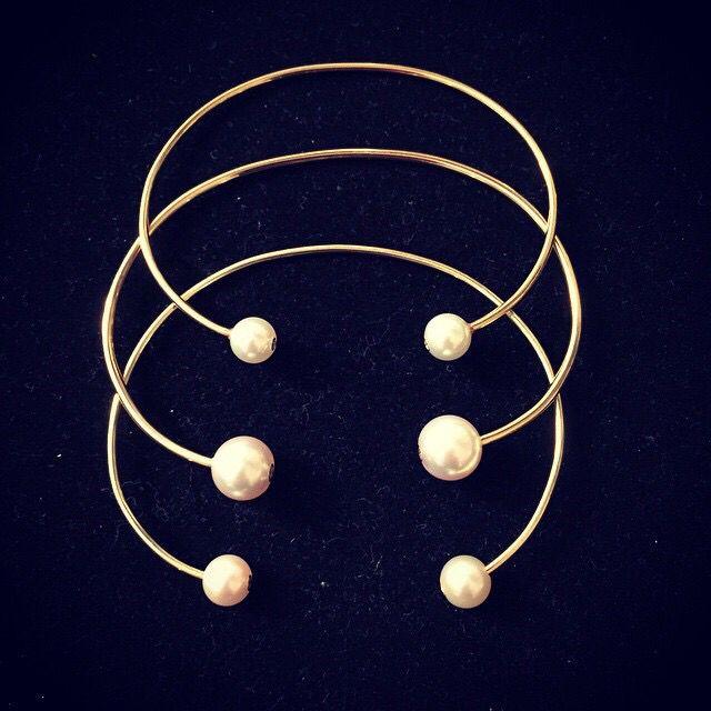 gold wire cuffs