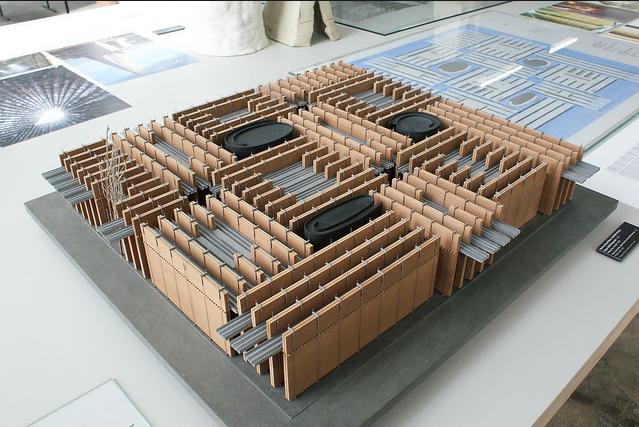 Peter Zumthor Swiss Pavilion Expo 2000, maquette