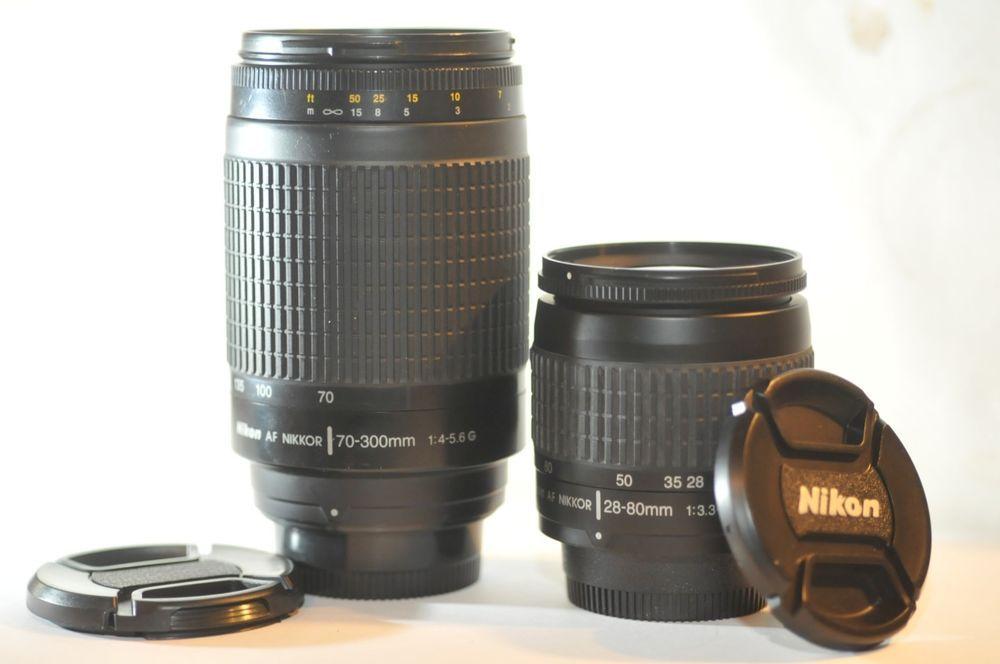 Details About Nikon Nikkor 70 300mm F 4 5 6 D Ed Af Zoom Lens For Fx Film Camera Used Nikon D80 Nikon D7100 Nikon