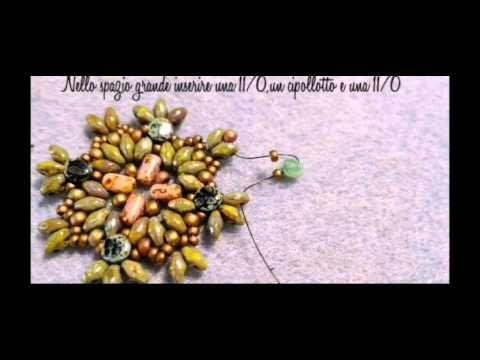 DIY tutorial Anello con superduo e rocailles(Video 24) - YouTube