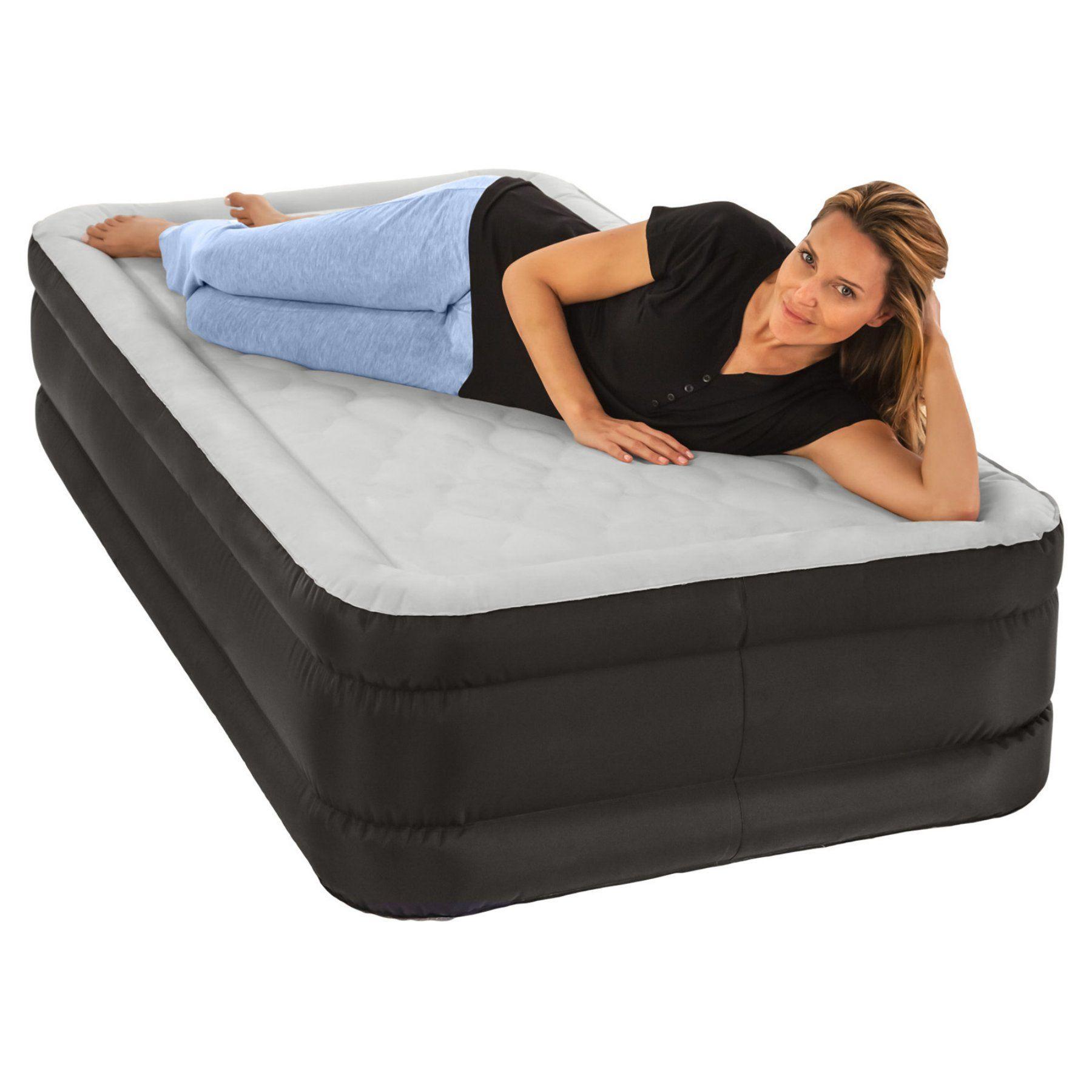 4389e242a31 Air Comfort Deep Sleep Twin Size Raised Air Mattress - 6104TRB ...