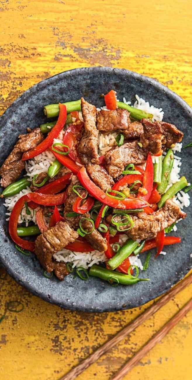 Photo of Asian Beef Pan Recipe HelloFresh
