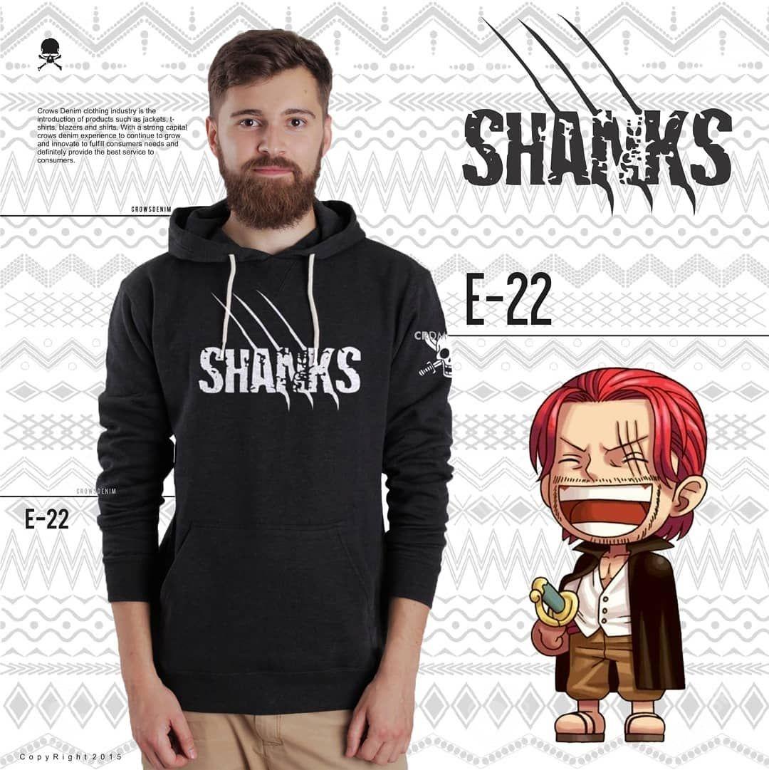 Ready Stock Jaket Anime One Piece E22 yang bisa jadi