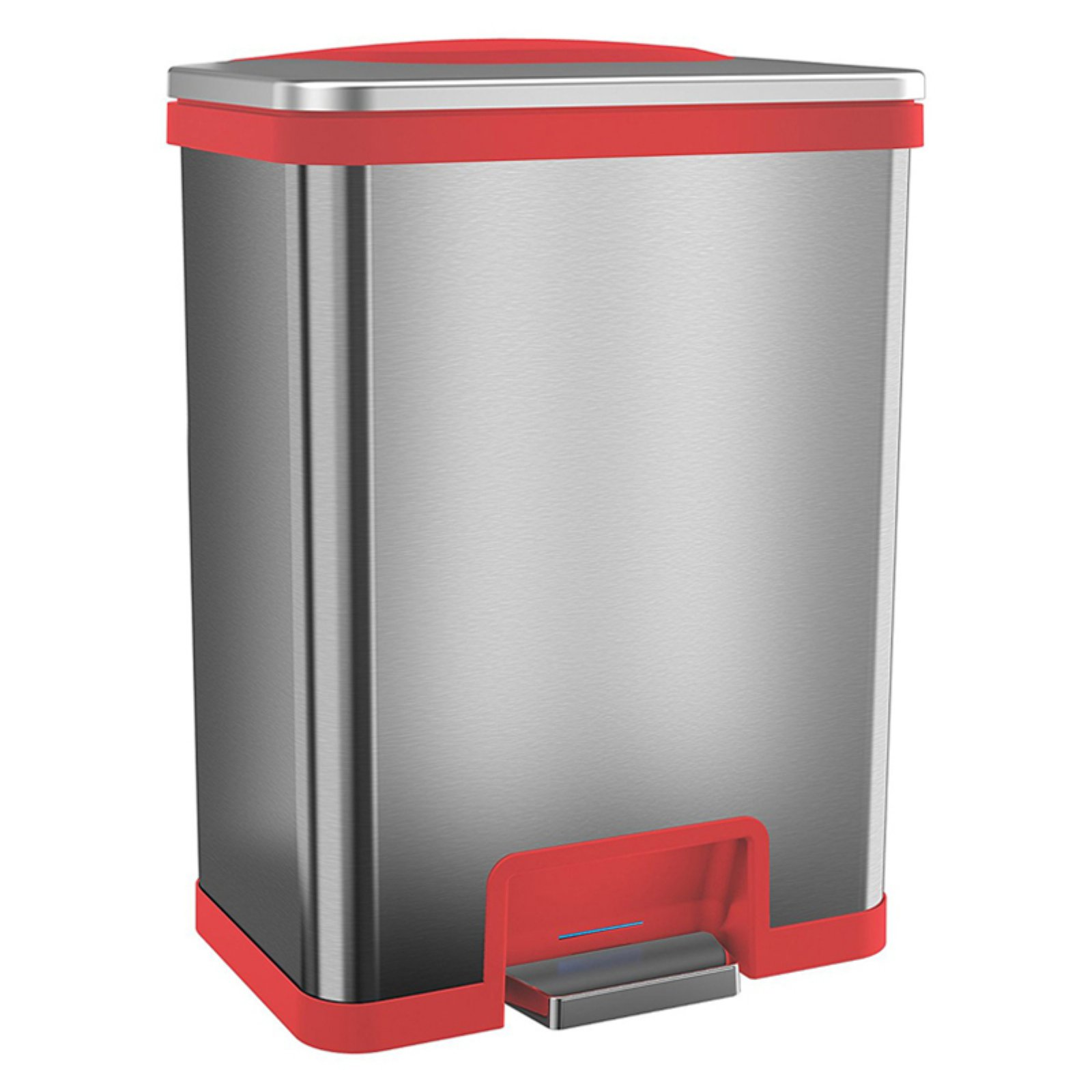 Halo Tapcan Automatic 13 Gallon Trash Can Red Products In